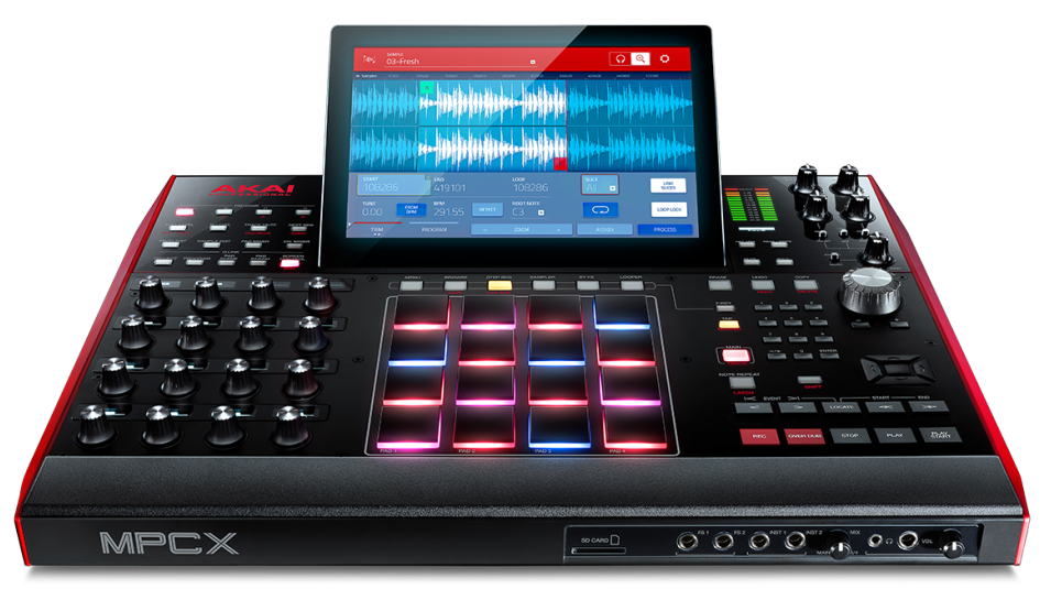 mpc-x-front